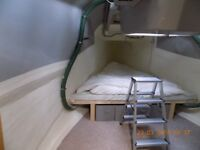 ex lifeboat houseboat conversion