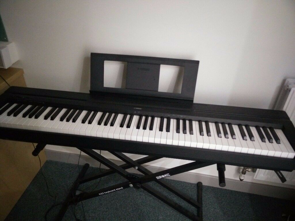 yamaha p45  Yamaha P45 Full Size Digital Piano & Height Adjustment Frame | in ...