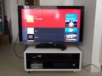 Xbox One + TV + stand + games / also available separately