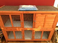 2 Storey Rabbit Hutch - Great Condition