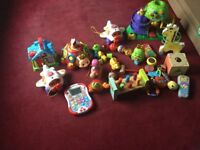 Large selection of toddler toys