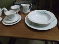 12 place setting Royal Stafford bone china dinner service