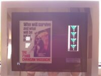 Texas Chainsaw Massacre Limited Edition film cells