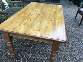Large Pine Table (Seats 6)