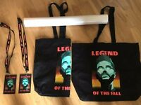 The Weeknd: 'Legend of the Fall' - VIP Merchandise (from 2017 UK Tour)