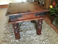 Square thakat occasional table