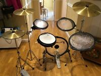 Flats Lite Arbiter drum set.
