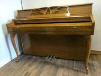 Pristine Oak 'Baldwin' Upright Console Art Deco Piano - CAN DELIVER