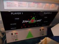 """***** BRAND NEW Snooker & Pool """"electronic"""" SCOREBOARD RRP £550 selling for ONLY £250 BARGAIN *****"""