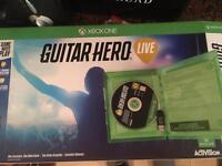 Guitar hero live + controller for Xbox one