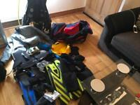 Scuba diving set up