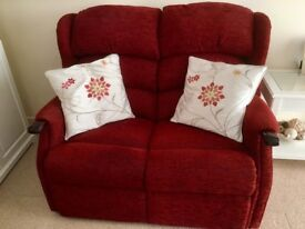 HSL 2 Seater sofa with matching Arm Chair