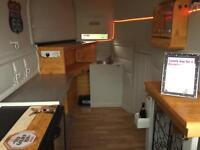 Catering trailer bar