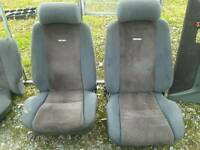 Ford Escort mk4 xr3i front seats and door cards