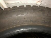 Goodyear ultra grip 9 winter tyres x4