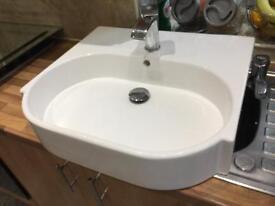 Sink white basin