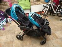 Contours Options Elite Tandem Stroller