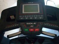 Sole F80 Resistance Treadmill