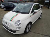 Fiat 500 1.2 Lounge 3dr 2011, Low Miles, Full Service History, Great Condition Both Inside & Out