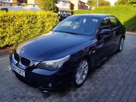 BMW 5 Series 2.0 520D M Sport (LCI) 177 BHP GREAT EXAMPLE FSH 12M MOT