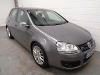 VOLKSWAGEN GOLF GT DIESEL , 2007 REG , ONLY 47000 MILES + FULL HISTORY, YEARS MOT, FINANCE, WARRANTY