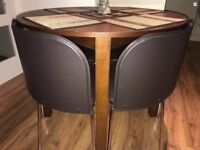Wooden Dining Table With 4 Chairs £85 ono