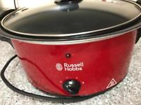 3 kitchen appliances to go Russel Hobbs slow cooker, Electrolux food steamer and big pot