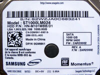 "Samsung Momentus SATA III hard drive, 2.5"", 1 TB (1000 GB), 5400rpm, 9.5mm high (ST1000LM024)"