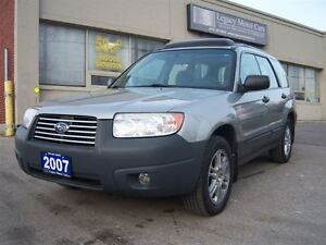 2007 Subaru Forester Special Edition 2.5 AWD Pano Roof