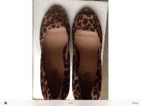 Woman's size 7 unused Lepoard motif shoes by Truffle