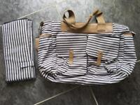 Baby changing bag, only used a few times, mat is new, smoke and pet free house