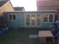 20ft x 10ft bespoke garden buildings/ summerhouse/ office/ shed