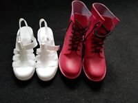 Women's shoes and boots. Size 6.