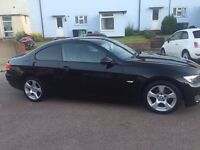 BMW 320i se (57 plate) Black