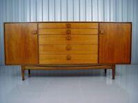Vintage Kofod Larsen G Plan Sideboard Retro Mid Century Furniture