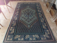 Old Tunisian Wool Carpet