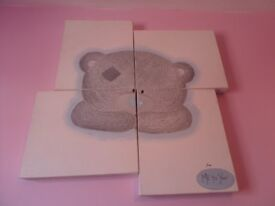 Me to you Tatty teddy hand painted canvas