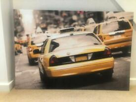 Canvas of New York Yellow Cab