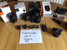 Sony A6500 Camera System