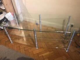 Glass Tv stand. £25 must go ASAP!