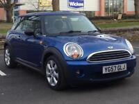 MINI COOPER 1.4 PETROL 2008 (57 REG)*£2499*LONG MOT*SERVICE HISTORY*BLUE*ALLOYS*PX WELCOME*DELIVERY