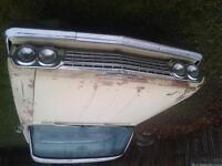 1962 Chevy Impala front clip fenders hood sheet metal