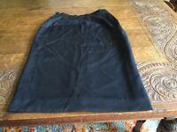 A Ladies Black Aquascutum Skirt Size 10