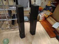 Pair of Skytronic SHFT52B tower speakers