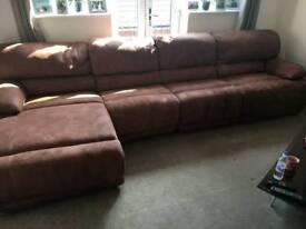 electrick reclining sofa