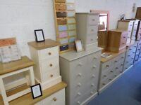 Brand New Ex Display Pine & Oak Furniture For Sale