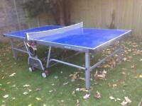 Kettler Master Pro Table Tennis Table