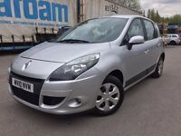 Renault scenic 2010 1.5 diesel - 8 months mot -new clutch and flywheel