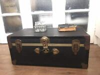 GENUINE VINTAGE TRUNK CHEST FREE DELIVERY LDN🇬🇧