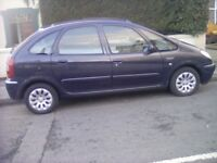 Citreon picasso 2.0 hdi exclusive top of range bargain